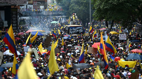COLOMBIA-MARCHA